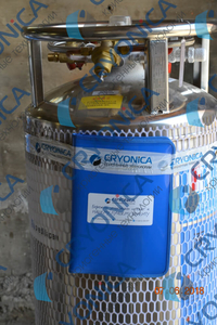 Отгрузка Вертикального криоцилиндра объемом 195 литров