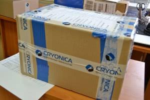 3 апреля новая отгрузка криогенной арматуры