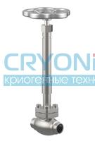 Сильфонный запорный клапан тип 01282
