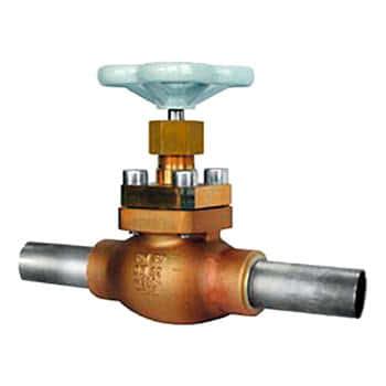 Тип 01301 Запорный клапан с трубками под приварку