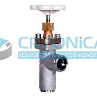 Тип 01332 Угловой клапан