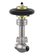 Запорный клапан тип 01653 с пневмоприводом