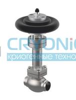Запорный клапан тип 01853 с пневмоприводом