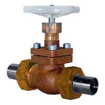 Тип 02401 Запорный клапан с штуцерами под приварку