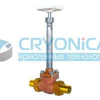 Тип 02411 Запорный клапан с штуцерами под припайку