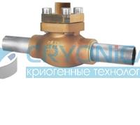 Обратный клапан тип 05412 с трубками под приварку