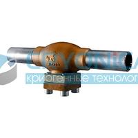 Фильтр тип 08412 с припаянными трубами нержавеющая сталь