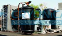 Резервуар для хранения жидкости двуокиси углерода РДХ-30,0; 40,0; 50,0
