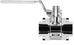 Шаровые краны  серии S60P для работы с паровыми системами
