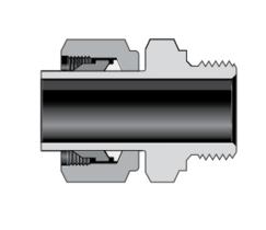 Трубные переходники с наружной цилиндрической резьбой ISO/BSP (серия RP)