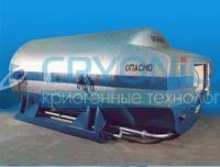 Цистерна транспортная криогенная ЦТК-8/0,25M