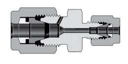 Муфты с трубным обжимным фитингом высокого давления и коническим патрубком