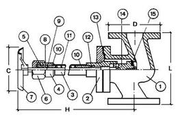 Криогенный запорный вентиль CAEN CRYO VCB-H