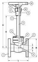 Криогенный запорный вентиль CAEN CRYO VCSS-1150