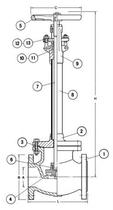 Криогенный запорный вентиль CAEN CRYO VCYS-1600