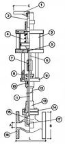 Криогенный запорный клапан CAEN CRYO VCB 1150-NC