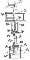 Криогенный запорный клапан CAEN CRYO VCB 1600-NC