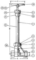 Криогенный запорный вентиль CAEN CRYO VLC