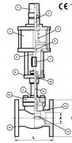 Запорный клапан CAEN VCBS-1150 NC