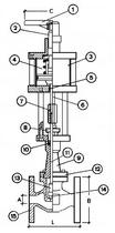 Запорный клапан CAEN VCB 1150-NC