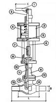 Запорный клапан CAEN VCB 300-NC