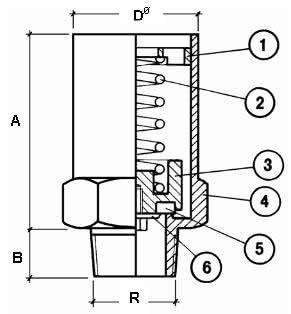 Предохранительный клапан CAEN VSR