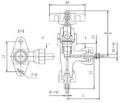 Криогенный запорный клапан CCK J24F-160T-TUBE