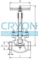 Криогенный запорный клапан CCK T330DJ50-100 PN40