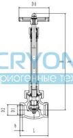 Криогенный запорный клапан CCK T338DJ10-40 PN40