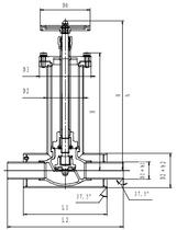 Криогенный запорный клапан CCK T328DJ10-80Z PN40