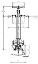 Криогенный запорный клапан блочный CCK T359DA80-200A~C PN64