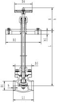 Криогенный запорный клапан блочный CCK T359DA10A-100A PN64