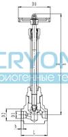 Криогенный запорный клапан CCK T451DA10-40 PN160