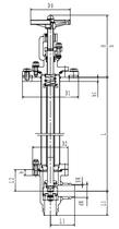 Криогенный запорный клапан блочный угловой CCK T151DL50-100 PN10