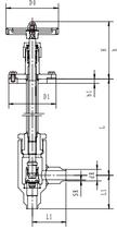 Криогенный запорный клапан блочный угловой CCK T151DL10-15 PN10