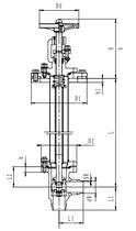 Криогенный запорный клапан угловой CCK T211DL50-100 PN16