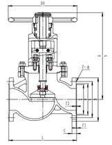Запорный клапан CCK J41F-40P