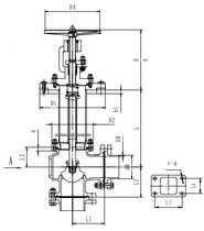 Криогенный запорный клапан угловой CCK T171DB25-50 PN10