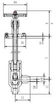 Криогенный запорный клапан угловой CCK T251DB10-15 PN25