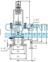 Предохранительный клапан тип T251DK32-100 PN25