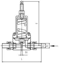 Криогенный регулятор давления типа T254DE15-25