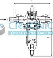 Криогенный регулятор давления типа T277DE15-50