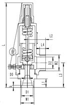 Предохранительный клапан тип T301DK15-25 PN40