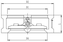 Криогенный обратный клапан T302DH250-300 PN40