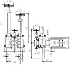 Криогенный заправочный узел типа T310DA40
