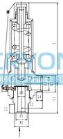 Предохранительный клапан тип T401DK10-25 PN100