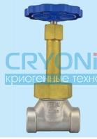 Запорный клапан криогенный типа DJ-P1