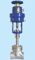 Запорный клапан криогенный типа DJQ с пневматическим приводом