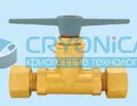 Клапан запорный газовый типа QJT PN30 бар