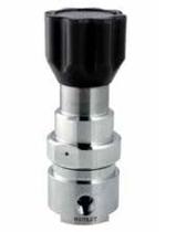Регулятор обратного давления для среднего расхода газа с чувствительным поршнем серии ВР-301